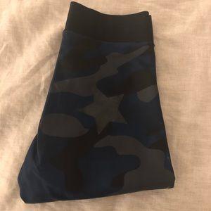 Ultracor blue camo high waisted leggings